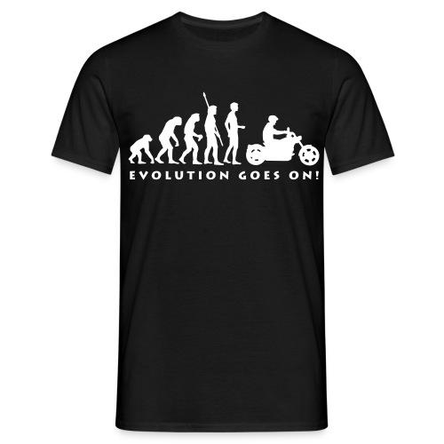 Klassisches Männershirt ( EVOLUTION ) - Männer T-Shirt