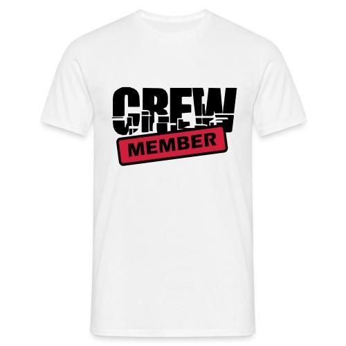 Klassisches Männershirt ( Crew Member ) - Männer T-Shirt