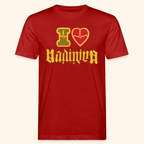 I LOVE MADININA - T-shirt bio Homme