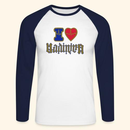 I LOVE MADININA - T-shirt baseball manches longues Homme