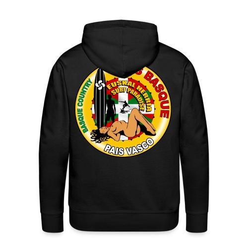sweatshirt capuche basque surfing design - Men's Premium Hoodie