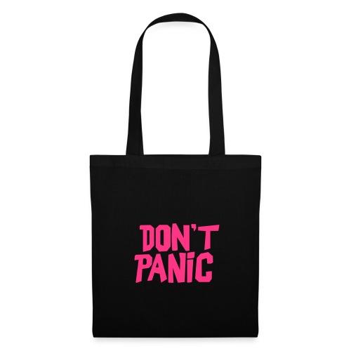 Stofftasche Don't Panic - Stoffbeutel