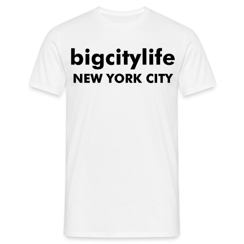 nyc white classic-fit - Männer T-Shirt
