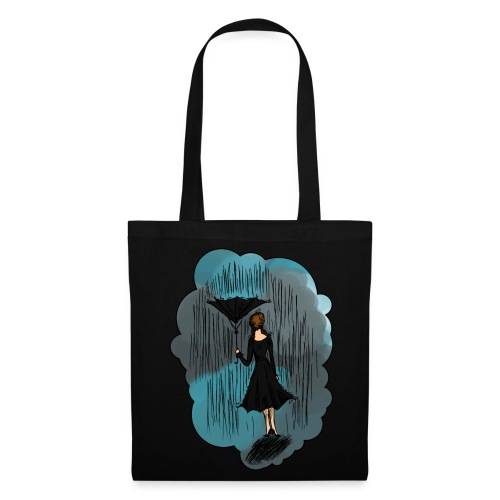 Upside Down Umbrella bag - Tote Bag
