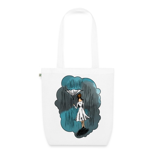 Upside Down Umbrella bag - EarthPositive Tote Bag