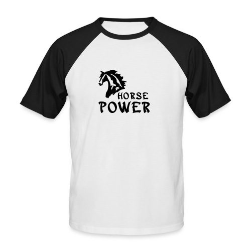 Men´s Horse Power - Men's Baseball T-Shirt