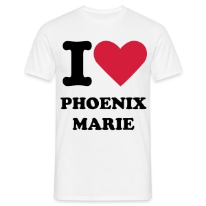 I LOVE PHOENIX MARIE - Men's T-Shirt