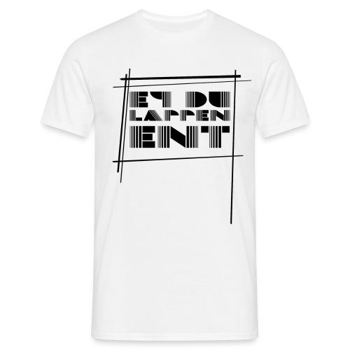 EY DU LAPPEN ENT. (RETRO) Shirt Männer - Männer T-Shirt