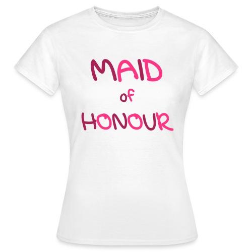 Maid of Honour - Women's T-Shirt