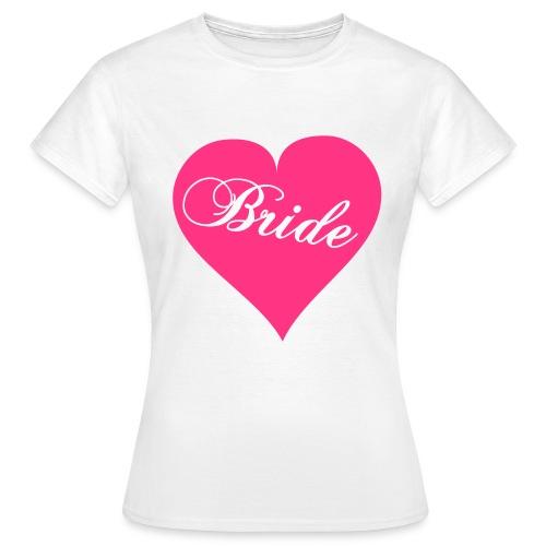 Heart bride - Women's T-Shirt