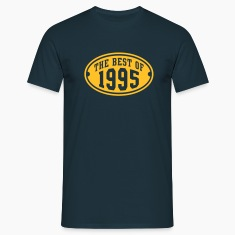 THE BEST OF 1995 - Birthday Anniversary T-Shirt YN