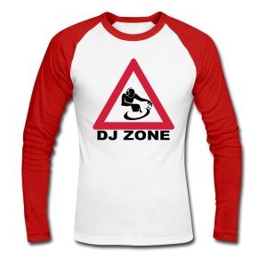 DJ Zone - Men's Long Sleeve Baseball T-Shirt