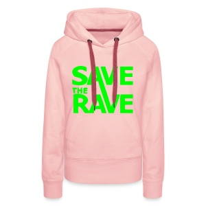 Save the Rave! - Women's Premium Hoodie