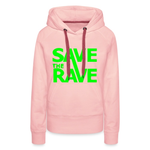 Save the Rave! - Women's Premium Hoodie
