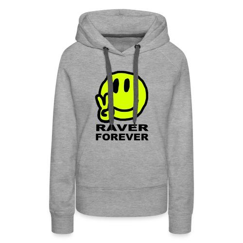 Raver Forever - Women's Premium Hoodie