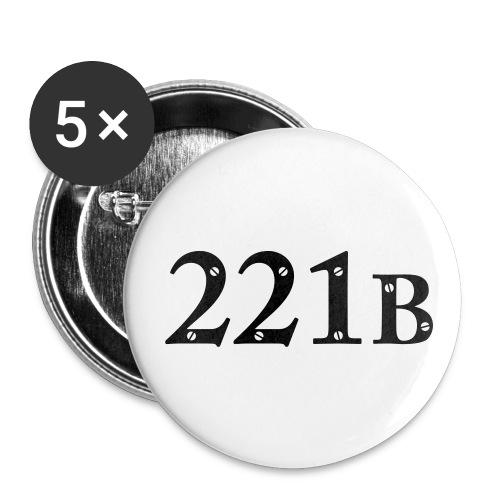 Button - 221B - Buttons klein 25 mm