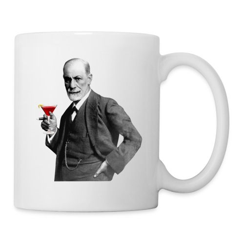 Sigmund Freud Kaffeebecher - Tasse