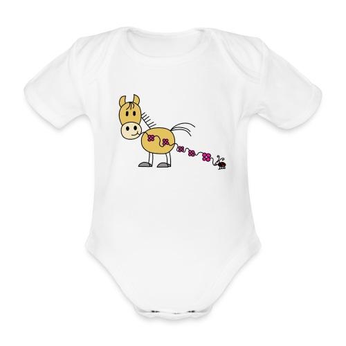 HÜA - Babybody - Baby Bio-Kurzarm-Body