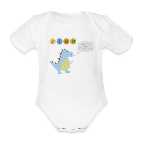 Dino - Babybody - Baby Bio-Kurzarm-Body