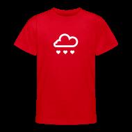 Shirts ~ Teenage T-shirt ~ Raining love