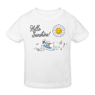 Shirts ~ Kids' Organic T-shirt ~ Hello sunshine!