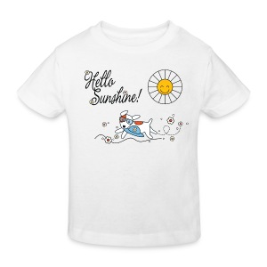 Hello sunshine! - Kids' Organic T-shirt