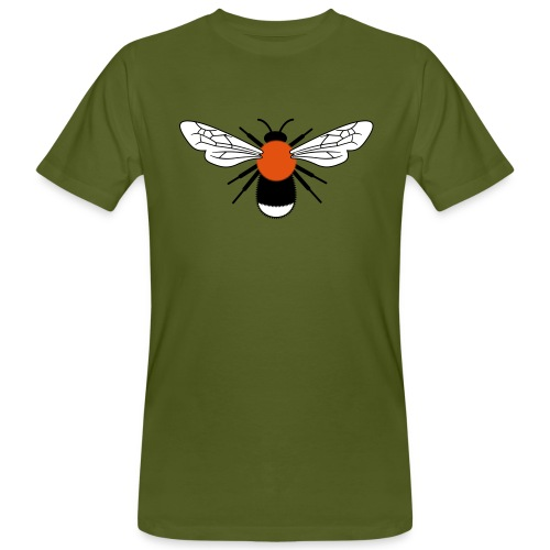 Bombus hypnorum final - Men's Organic T-shirt