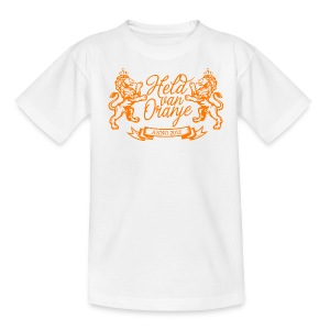 Custom retro Holland lions footbal shirt - Kids' T-Shirt
