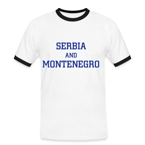Serbia and Montenegro - World Cup 2006 - Men's Ringer Shirt