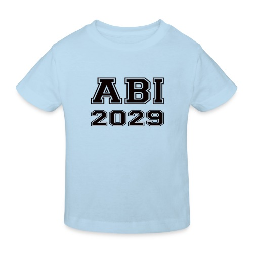 Abi2029 - Kinder Bio-T-Shirt