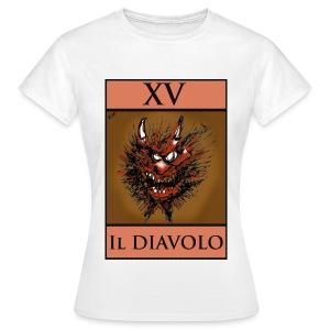 Tarot, T Shirt - The Devil XV - Women's T-Shirt