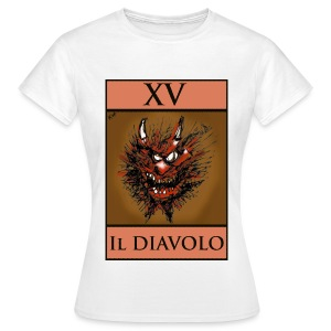Tarot, T Shirt - The Devil XV - Women's T-Shirt
