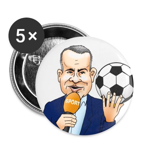 Sierd de Vos button (wit) - Buttons klein 25 mm