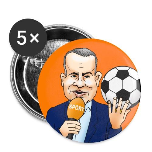 Sierd de Vos button (oranje) - Buttons klein 25 mm