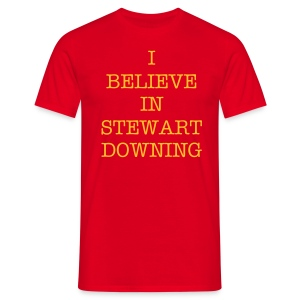 I BELIEVE - DOWNING - Men's T-Shirt