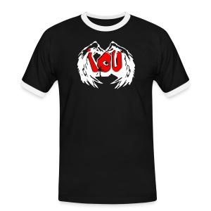 Graffiti - I.O.U. - Männer Kontrast-T-Shirt