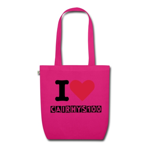 I Love CaiRhys100 Bag - EarthPositive Tote Bag