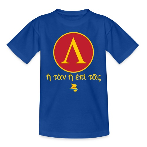 Scudo Spartano - Maglietta per bambini