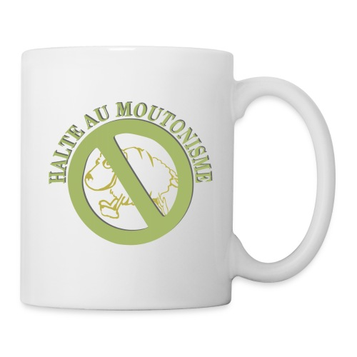 Mug - Stop Moutonisme - Mug blanc