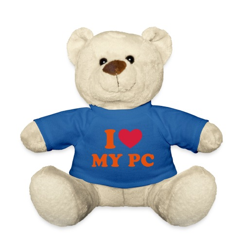 i love MY PC beertje - Teddy