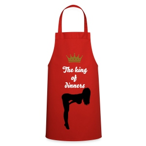 the king - Grembiule da cucina