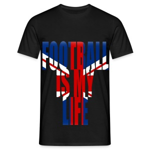 T shirt homme football is my life angleterre - T-shirt Homme