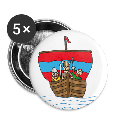 Vikings Buttons