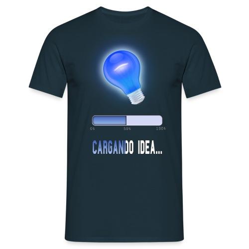 Cargando idea - Camiseta hombre