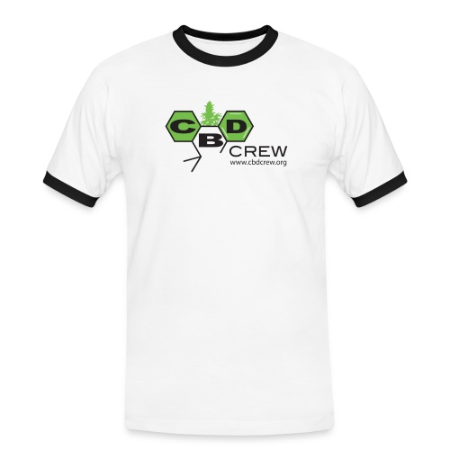 CBD Crew Men's Logo T-Shirt - Men's Ringer Shirt