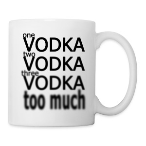 One Vodka Mug - Tasse