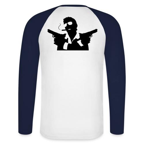 Ren creation - T-shirt baseball manches longues Homme