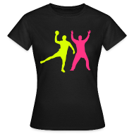 Tee shirts ~ Tee shirt Femme ~ Handball Tee-Shirt, Gagne ton duel