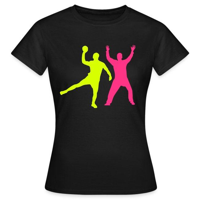 c4f1f1eae8a05 Tee-shirts Handball   Handball Tee-Shirt Gagne ton duel - T-shirt Femme