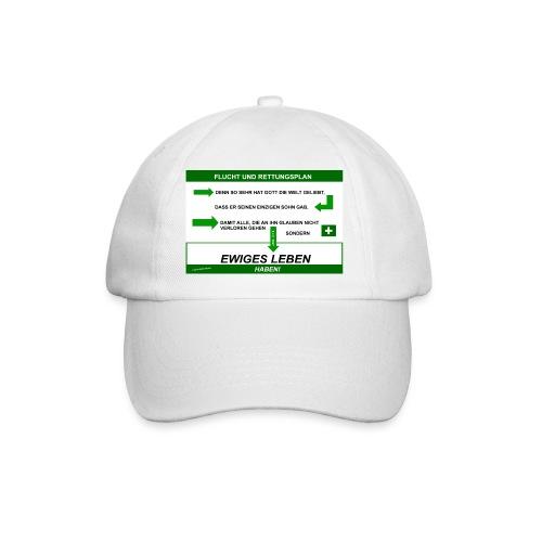 Rettungsplan-Base Cap / Edition Katzenstein - Baseballkappe